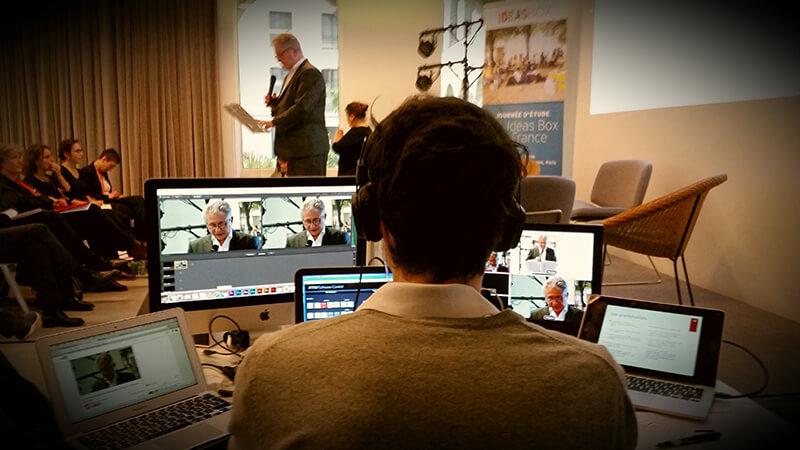 Livestream sur Youtube Live pour l'ONG Bibliothèques Sans Frontières