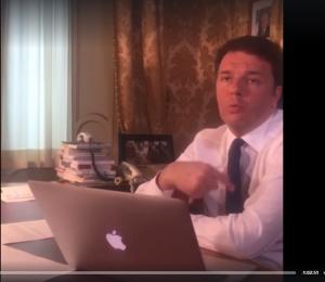 Matteo Renzi en Livestream